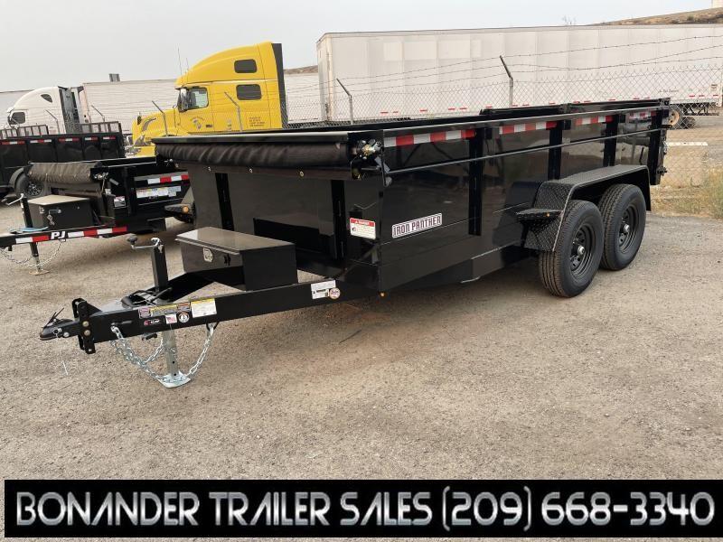 2021 Iron Panther DT278 7X14X2 SH14 Dump Trailer