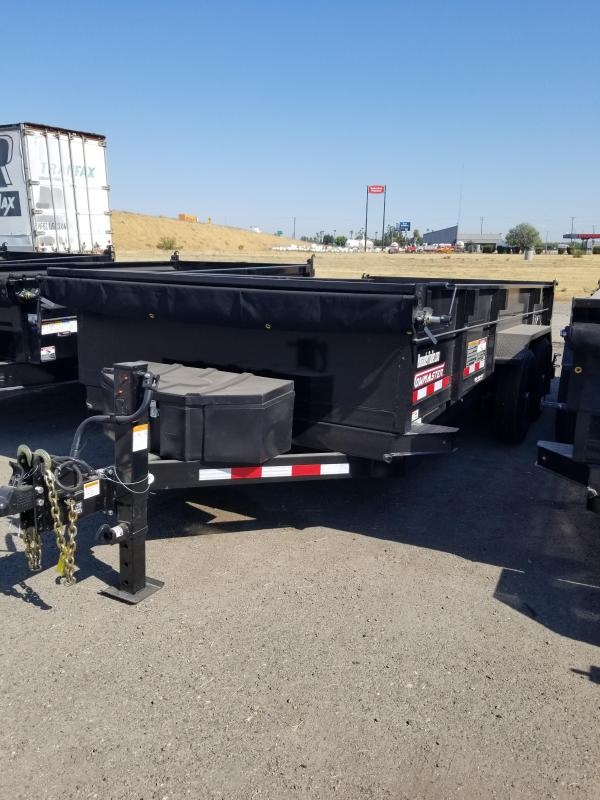 2022 Towmaster Trailers T-14HD Equipment Trailer
