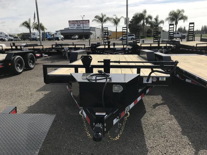 2019 PJ Trailers 18X 6 Channel Equipment (CC) Car / Racing Trailer