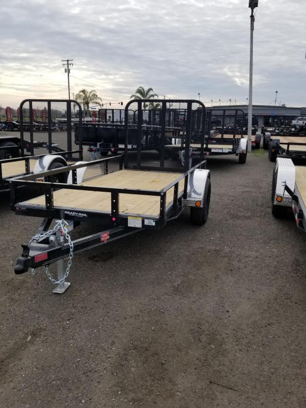2021 PJ Trailers U6-10 Sngl Axle Channel Utility Trailer