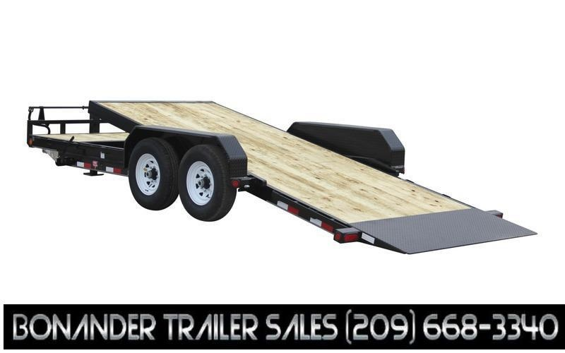 """2022 PJ Trailers 83"""" x 16' 6"""" Channel Equipment Tilt (T6) Equipment Trailer"""