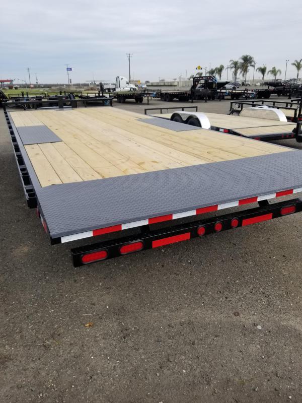 2021 PJ Trailers T8-22 Deckover Tilt Equipment Trailer