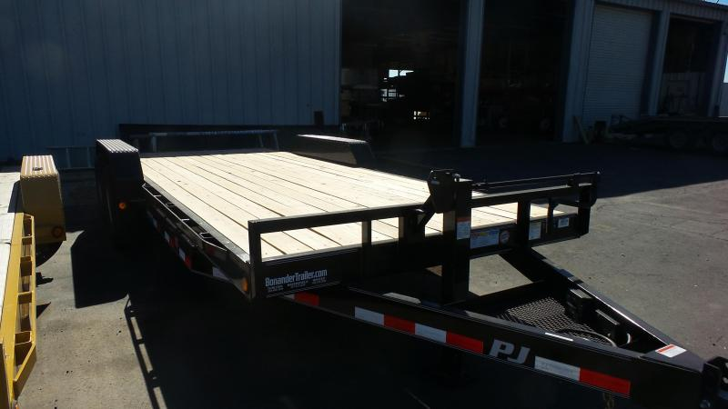 2017 PJ Trailers 20X6 Channel Equipment Trailer