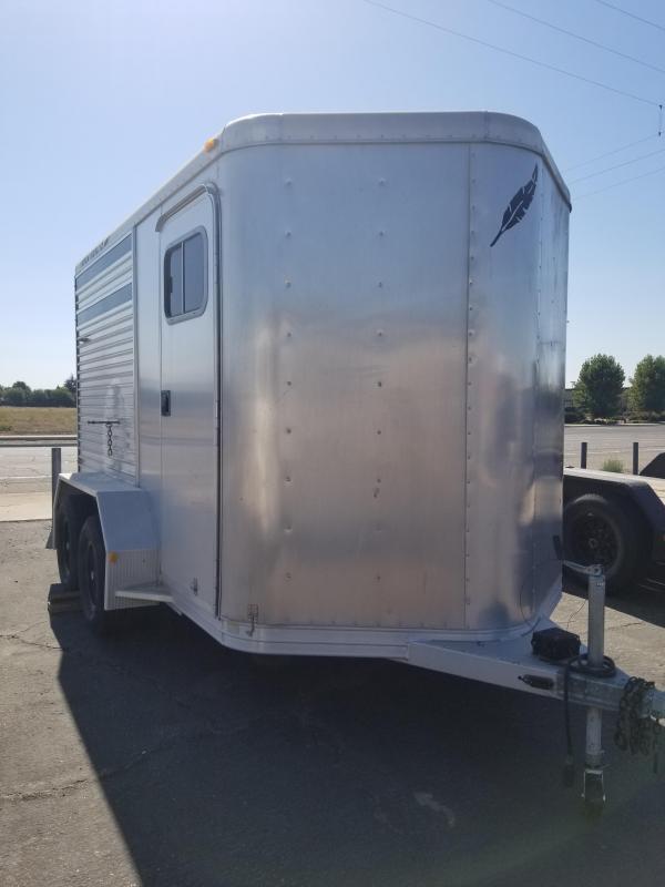 2001 Featherlite 8407-3700 Enclosed Horse Trailer