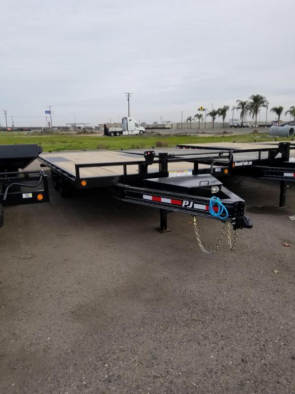 2021 PJ Trailers Deckover Tilt (T8) Equipment Trailer