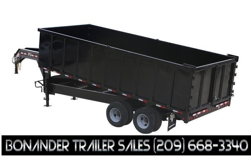 "2022 PJ Trailers 96"" x 20' Tandem Dual Dump (DD) Dump Trailer"