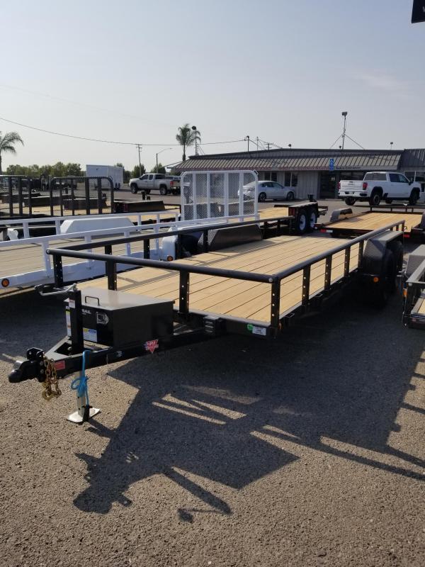 2022 PJ Trailers UL Utility Trailer