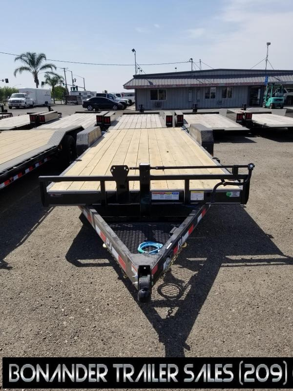 2021 PJ Trailers CC Equipment Trailer