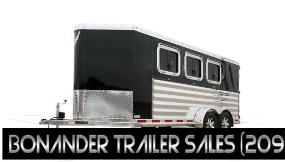 "2021 Featherlite 6'7"" 9409 2 HORSE Trailer"