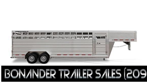 2021 Featherlite  7X24X6'6 Livestock Trailer