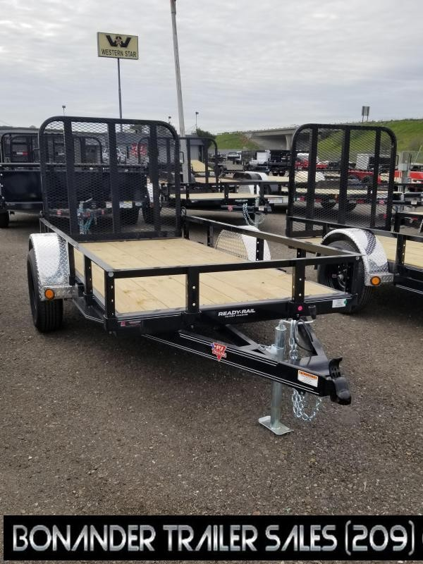 2021 PJ Trailers U6-10 Sngl Axle Channel Utility Trailer