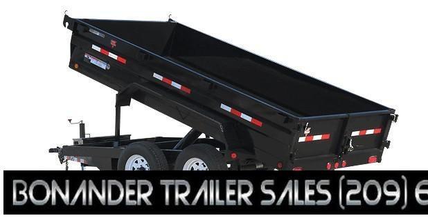 2021 PJ Trailers 12X72 Tandem Axle Dump (D3) Dump Trailer