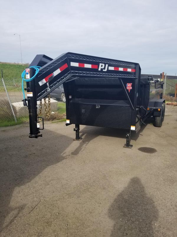 2020 PJ Trailers HD Low-Pro Dump (DE-16) Dump Trailer