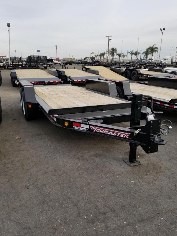 2021 Towmaster Trailers T-16 DT Equipment Trailer