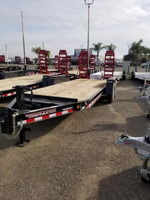 2021 Towmaster Trailers TC-14D Equipment Trailer