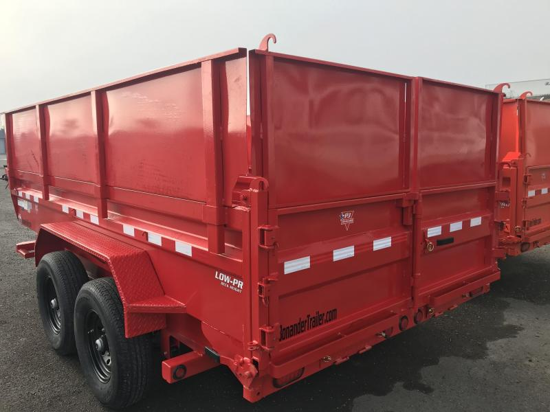 2021 PJ Trailers 14X83  Low Pro Dump (DL) Dump Trailer