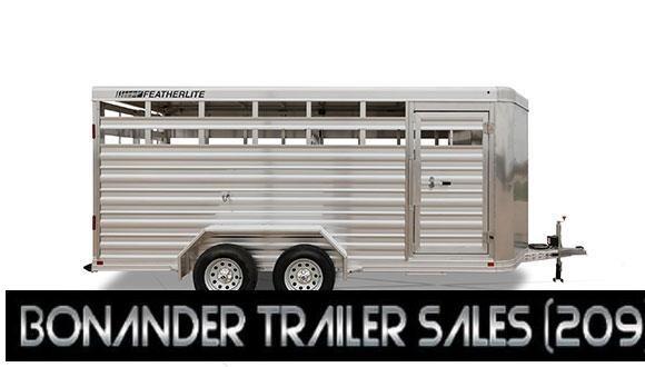 2021 Featherlite  6.5X16X6.5 8107 Livestock Trailer