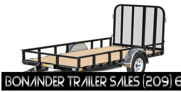 2021 PJ Trailers 72 in. Single Axle Channel Utility (U2) Utility Trailer