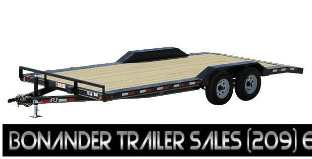 2021 PJ Trailers 22X5  Channel Buggy Hauler (B5) Car / Racing Trailer