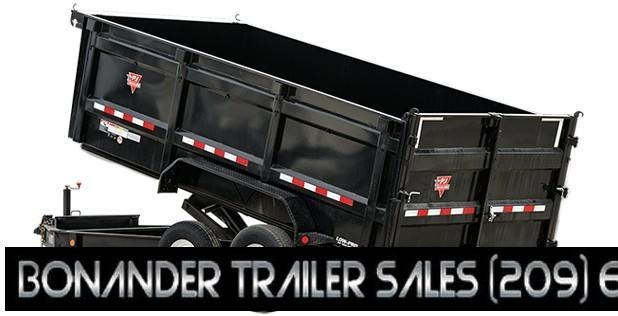 2021 PJ Trailers 16X83 Low Pro High Side Dump (DM) Dump Trailer