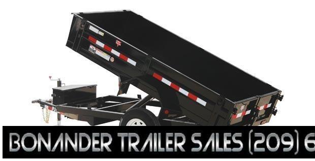 2021 PJ Trailers 10X60 Utility Dump (D5) Dump Trailer