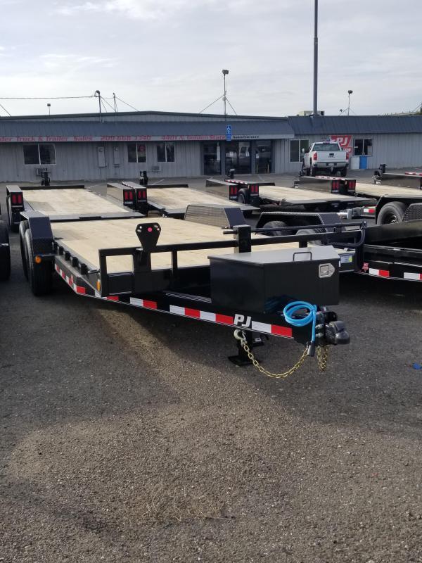 2021 PJ Trailers 6 in. Channel Equipment (CC-20) Equipment Trailer