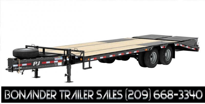 2021 PJ Trailers 25' Low-Pro Pintle with Duals (PL) Flatbed Trailer