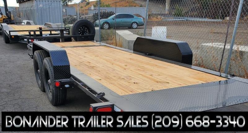 2022 PJ Trailers 20' HD Equipment Tilt 6 in. Channel (TJ) Equipment Trailer