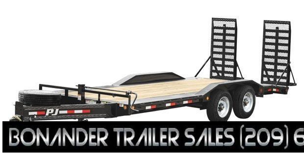 "2022 PJ Trailers 10"" Pro-Beam Super-Wide Equip (H7) Equipment Trailer"