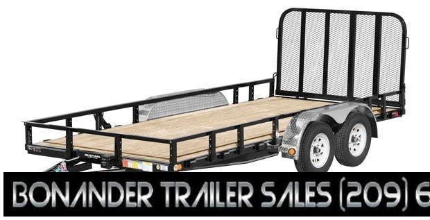 2021 PJ Trailers 18X83 Tandem Axle Channel Utility (UL) Utility Trailer