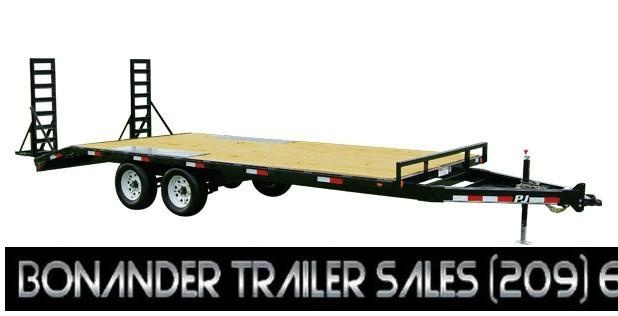 2021 PJ Trailers Medium Duty Deckover 6 in. Channel (L6) Flatbed Trailer