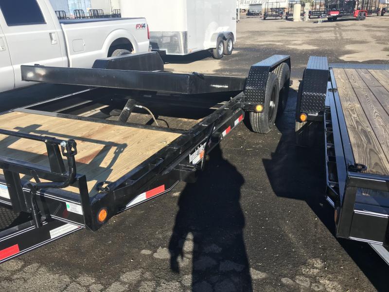 2021 PJ Trailers 20X6 Channel Equipment Tilt (T6) Equipment Trailer