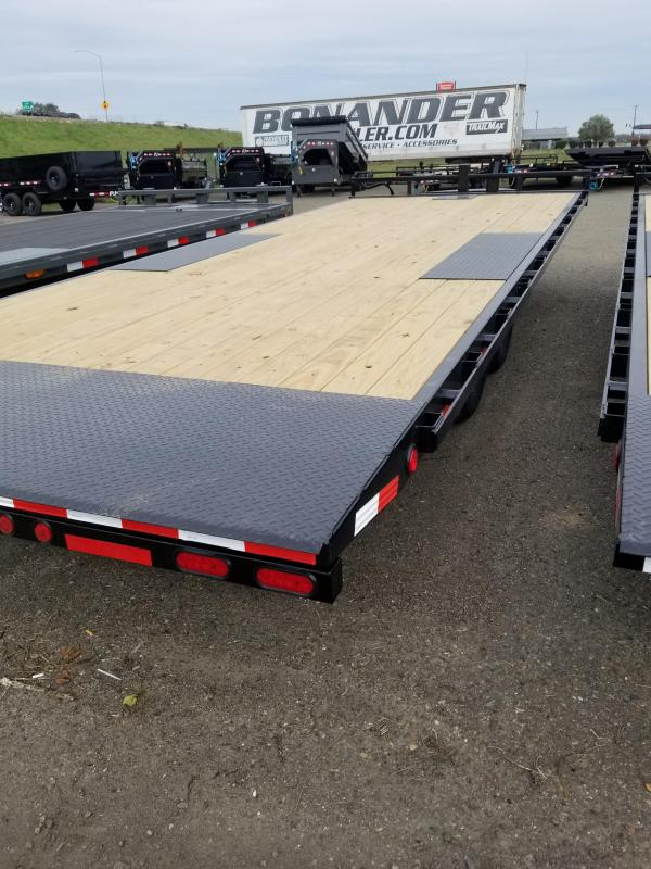 2021 PJ Trailers T8-22 Deckover Tilt Equipment Trailer