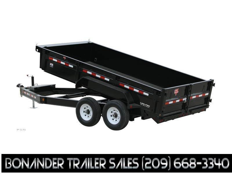 2021 PJ Trailers 14X83 Low Pro Dump (DL) Dump Trailer