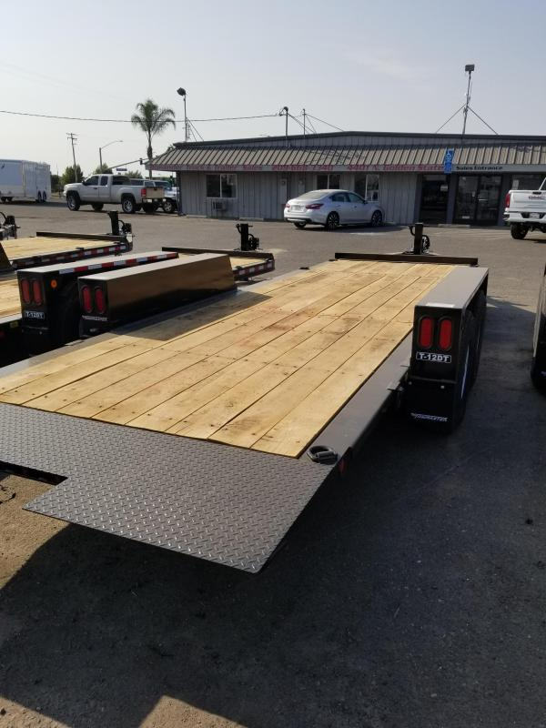 2021 Towmaster Trailers T-12DT Equipment Trailer