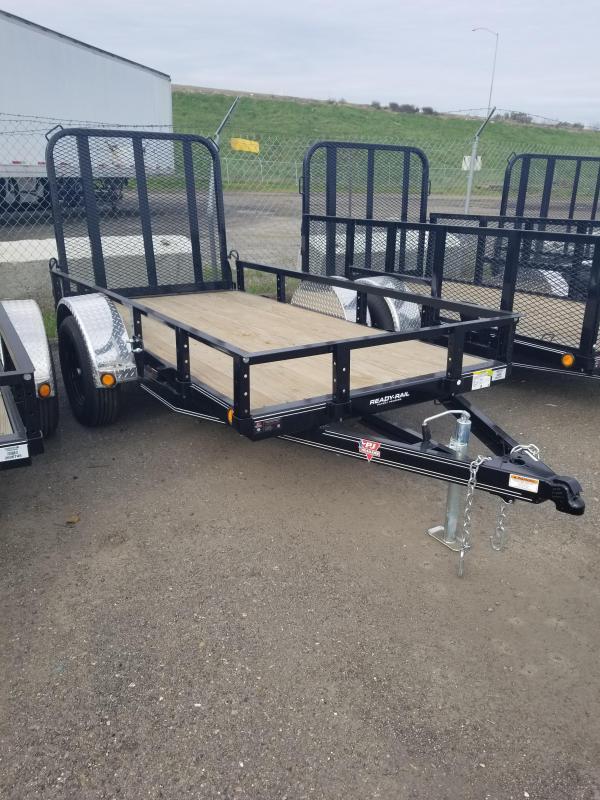 2021 PJ Trailers 60 in. Single Axle Channel Utility (U6) Utility Trailer