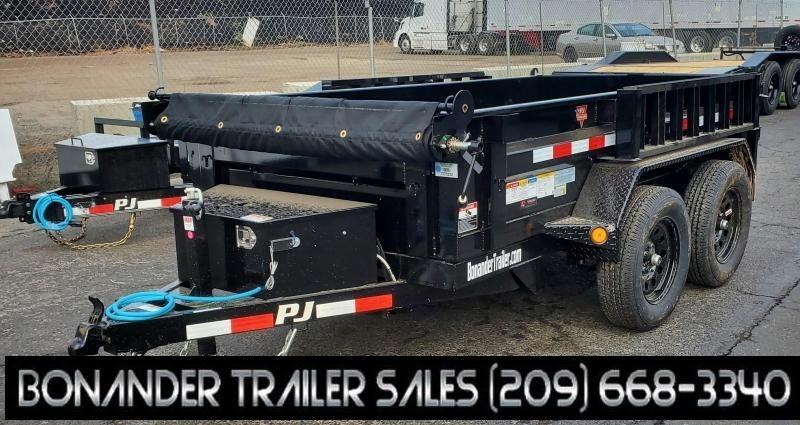2022 PJ Trailers 60 in. Utility Dump (D5) Dump Trailer