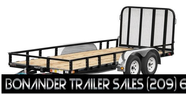 2021 PJ Trailers 12X77  Tandem Axle Channel Utility (UK) Utility Trailer