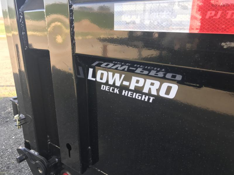 2020 PJ Trailers 14X83 Low Pro High Side Dump (DM) Dump Trailer