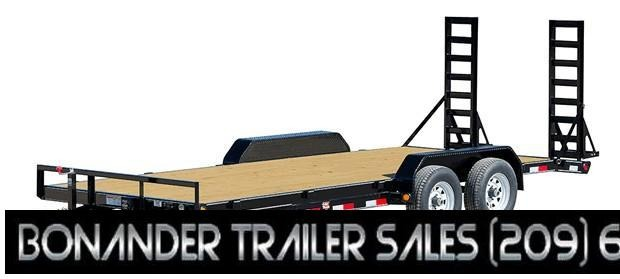 2021 PJ Trailers 5 in. Channel Equipment (CE) Equipment Trailer