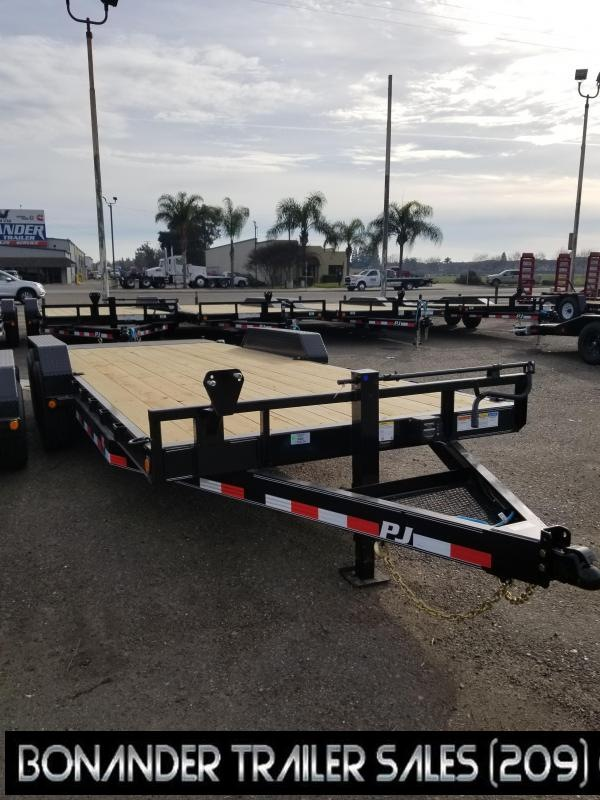 2021 PJ Trailers 20X6 Channel Equipment (CC) Car / Racing Trailer