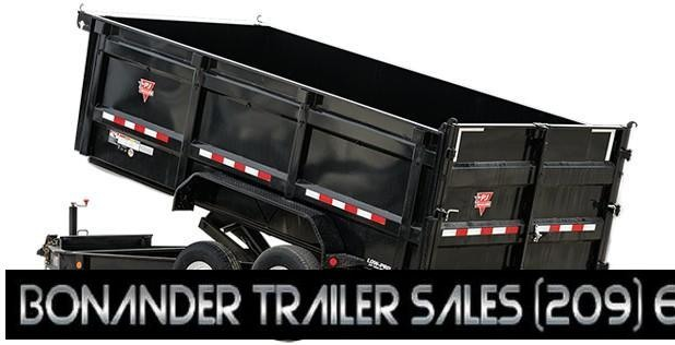 2021 PJ Trailers 12X83 Low Pro High Side Dump (DM) Dump Trailer
