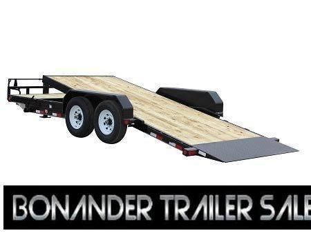 2022 PJ Trailers 20X6 in. Channel Equipment Tilt (T6) Equipment Trailer