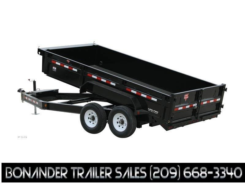 2021 PJ Trailers 16' HD Low-Pro Dump (DE) Dump Trailer