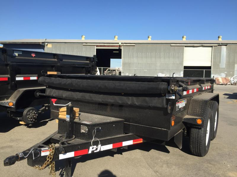 Medium Duty Dump TRAILER D2102 (5572PJ)