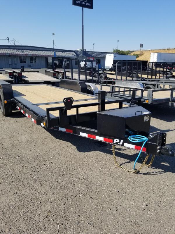 2022 PJ Trailers TJ Equipment Trailer