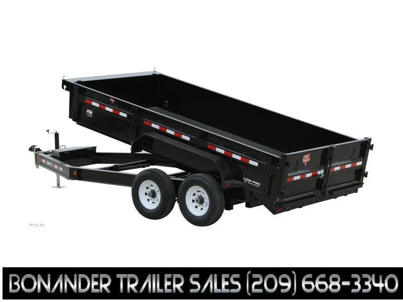 2021 PJ Trailers 16X83 Low Pro Dump (DL) Dump Trailer