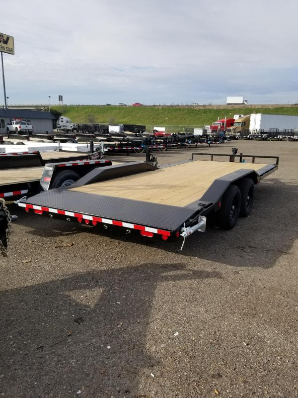 2021 PJ Trailers B5-20 Channel Buggy Hauler Equipment Trailer