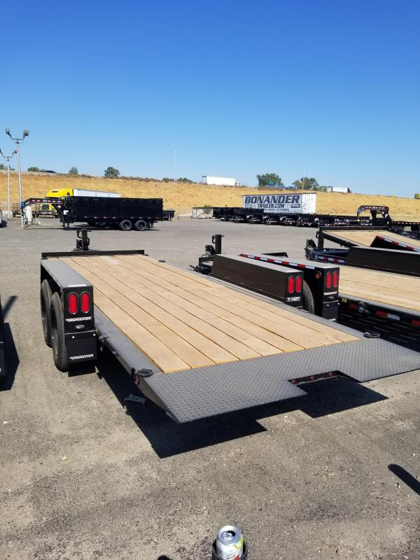 2021 Towmaster Trailers T-14DT Equipment Trailer