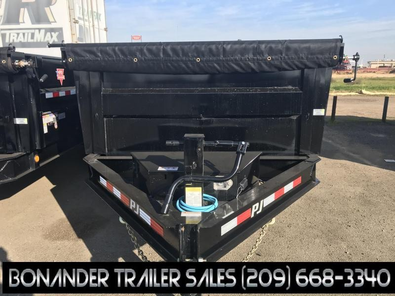 2020 PJ Trailers 16X83 Low Pro High Side Dump (DM) Dump Trailer